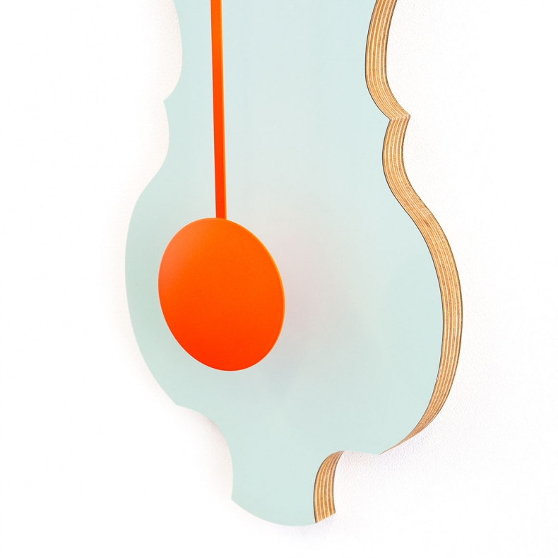 design klok met slinger | design pendulum clock
