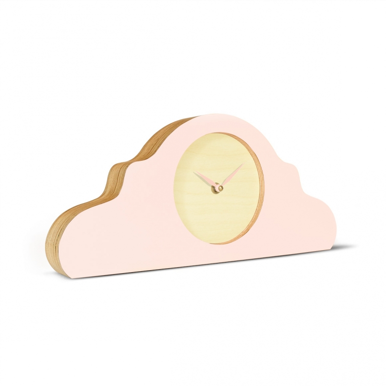 Pink design mantelclock