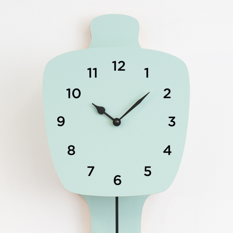 numeric set clock