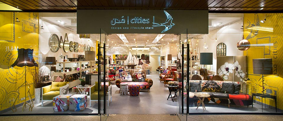 Dutch in Middle-East. Cities store