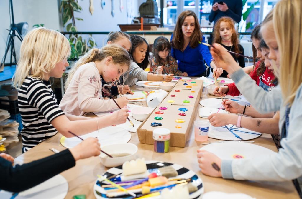 schilder workshop den haag - kinderpartijtje - kinderfeestje