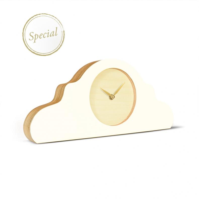 witte design klok